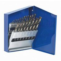 Irwin® High Speed Steel Drill Bit Sets with Turbo Point Tip