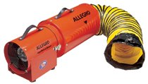 AC Com-Pax-Ial Blowers w/Canister