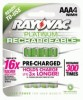 Rayovac Platinum NiMH Pre-Charged Rechargeable Batteries