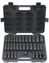 Blackhawk™ 33 Piece Deep Impact Socket Sets