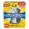 Glad® ForceFlex® Tall Kitchen Drawstring Trash Bags