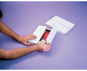 ADJUSTABLE BOOKFOLD MAILERS