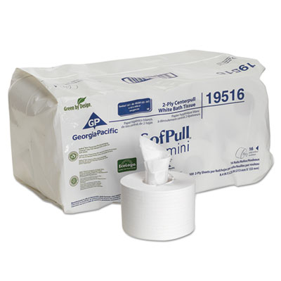Georgia Pacific® Professional SofPull® Mini Centerpull Bath Tissue