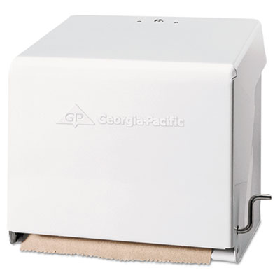 Georgia Pacific® Mark II Crank Roll Towel Dispenser