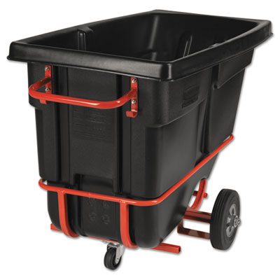 Rubbermaid® Commercial Forkliftable Rotomolded Tilt Truck