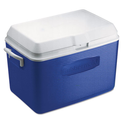 Rubbermaid® Commercial Deluxe 48-Quart Hinged-Lid Ice Chest
