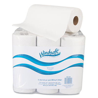 Windsoft® Perforated Paper Towel Rolls
