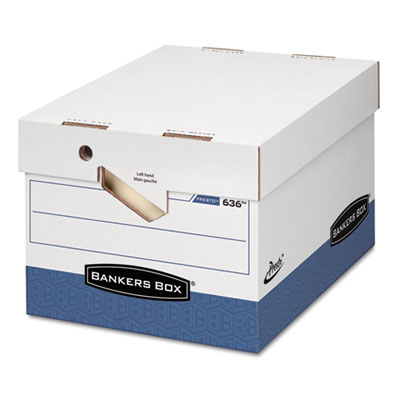 Bankers Box® PRESTO™ Ergonomic Design Storage Boxes