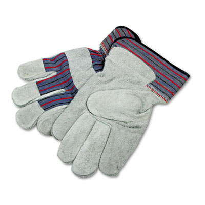 Boardwalk® Men's Leather Palm Gloves