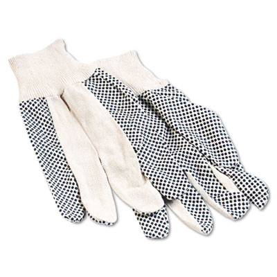 Boardwalk® Men's PVC Dotted Canvas Gloves