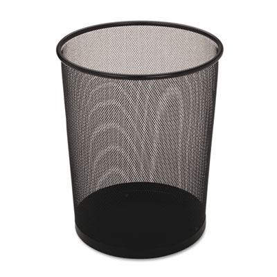 Rubbermaid® Commercial Steel Mesh Wastebasket
