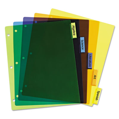 Avery® Insertable Big Tab™ Plastic Dividers
