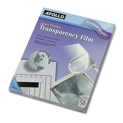 Apollo® Laser Printer Transparency Film