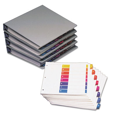 Avery® Ready Index® Customizable Table of Contents Uncollated Multicolor Dividers