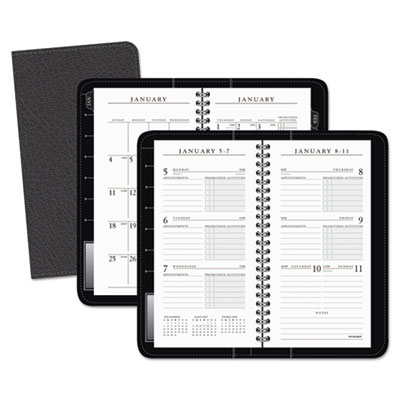 AT-A-GLANCE® Executive® Deluxe Weekly/Monthly Appointment Book