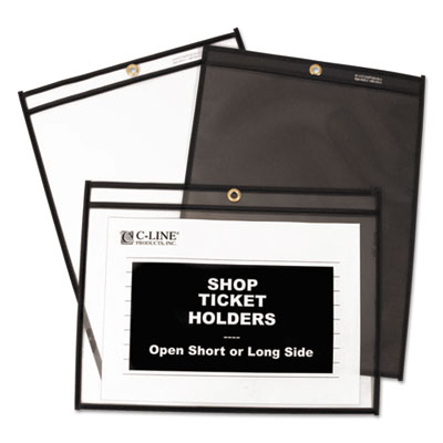 C-Line® Stitched Shop Ticket Holders