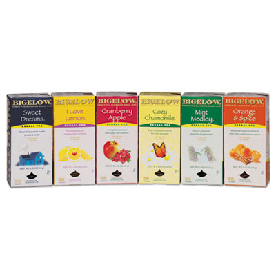 Bigelow® Assorted Herbal Tea Bags