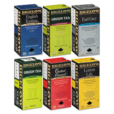 Bigelow® Assorted Tea Bags