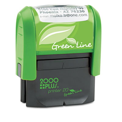 2000 PLUS® Self-Inking Custom Message Stamp