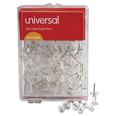 Universal® Clear Push Pins