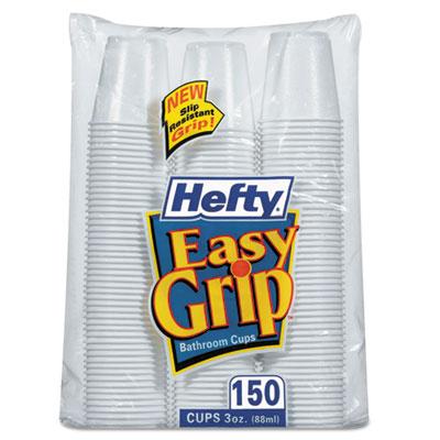 Hefty® Easy Grip® Disposable Plastic Bathroom Cups