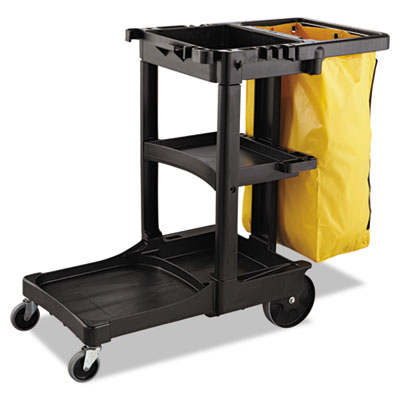 Rubbermaid® Commercial Zippered Vinyl Cleaning Cart Bag