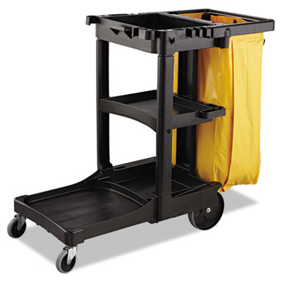 Rubbermaid® Commercial Vinyl Cleaning Cart Bag