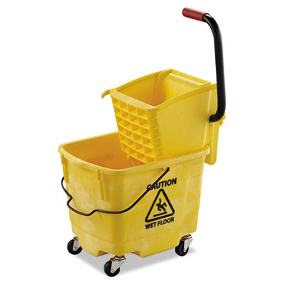 Boardwalk® Pro-Pac™ Side-Squeeze Wringer/Bucket Combo