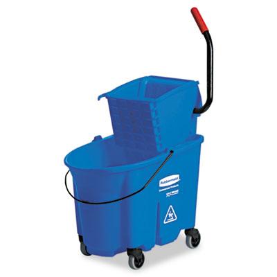 Rubbermaid® Commercial WaveBrake® Side-Press Wringer/Bucket Combo