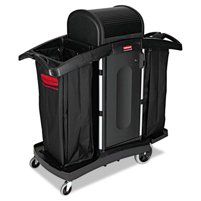Rubbermaid® Commercial High-Security Housekeeping Cart