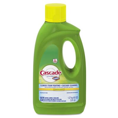 Cascade® Automatic Dishwasher Gel w/Bleach