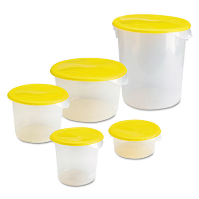 Rubbermaid® Commercial Round Storage Containers