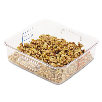 Rubbermaid® Commercial SpaceSaver Square Containers