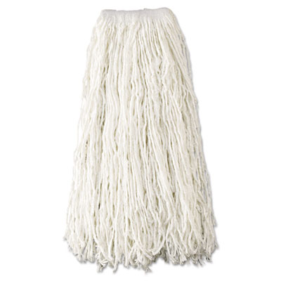 Rubbermaid® Commercial Non-Launderable Economy Cut-End Rayon Mop Heads