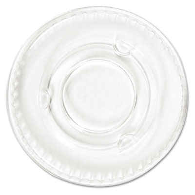 Boardwalk® Crystal-Clear Portion Cup Lids
