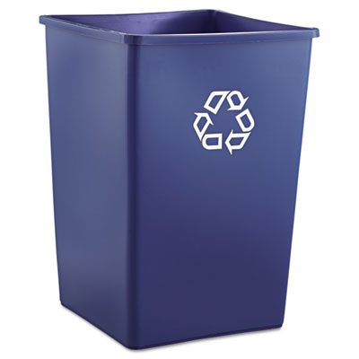 Rubbermaid® Commercial Square Recycling Container