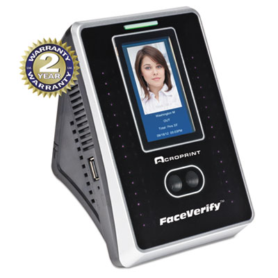 Acroprint® timeQplus FaceVerify System