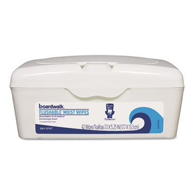 Boardwalk® Flushable Moist Wipes
