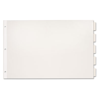 Cardinal® Paper Insertable Dividers