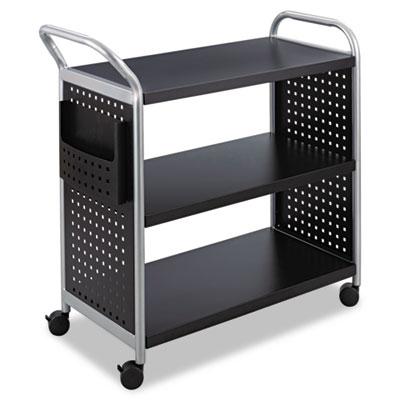 Safco® Scoot™ Three Shelf Utility Cart