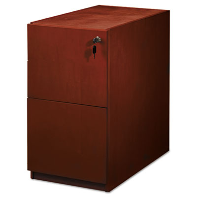 Mayline® Luminary Series File/File Pedestal for Bow Front Desk Shell