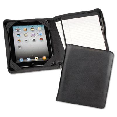 Samsill® iPad® Zipper Composition Padfolio