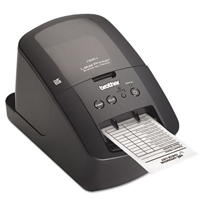 Brother® QL-720NW Professional High-Speed Label Printer with Built-in Wireless and Ethernet Networking