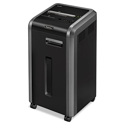 Fellowes® Powershred® 225Mi 100% Jam Proof Micro-Cut Shredder