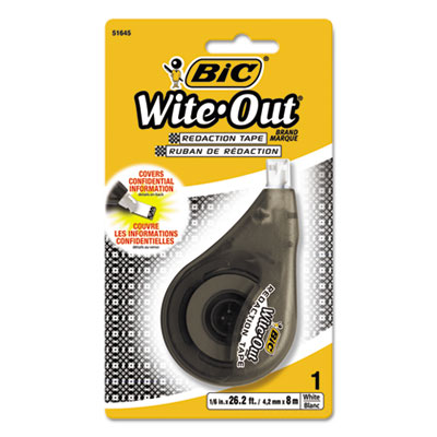 BIC® Wite-Out® Brand Redaction Tape