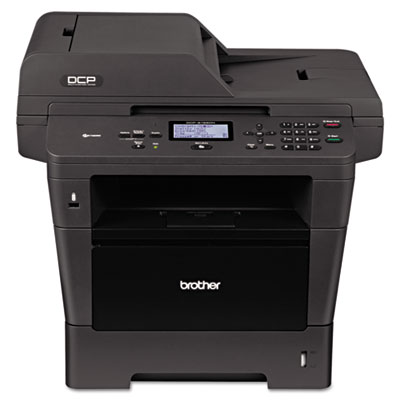 Brother® DCP-8155DN Multifunction Laser Copier with Advanced Duplex and Networking