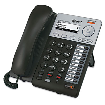 AT&T® Syn248™ Corded Deskset Phone System