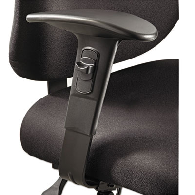 Safco® Optional T-Pad Adjustable Arms for Safco® Alday™ 24/7 Task Chair