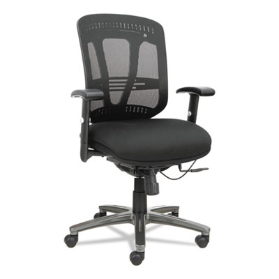 Alera® Eon Series Multifunction Mid-Back Cushioned Mesh Chair