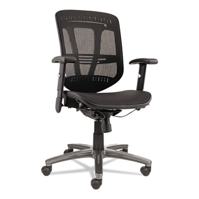 Alera® Eon Series Multifunction Mid-Back Suspension Mesh Chair